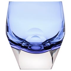 Bar Whisky Tumbler Underlay Crystal Blue 5.74 oz