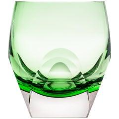 Bar Whisky Tumbler Underlay Crystal Green, 5.74 oz