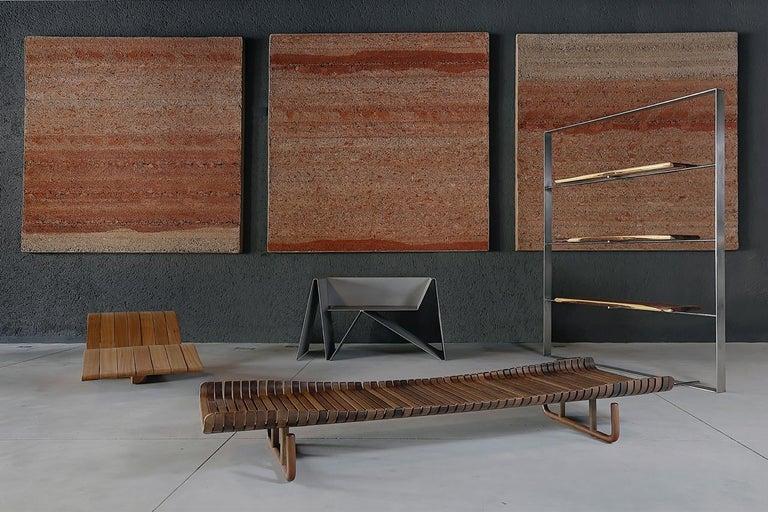 Baralho Armchair, by Flavio Franco, Brazilian Contemporary Design For Sale 9