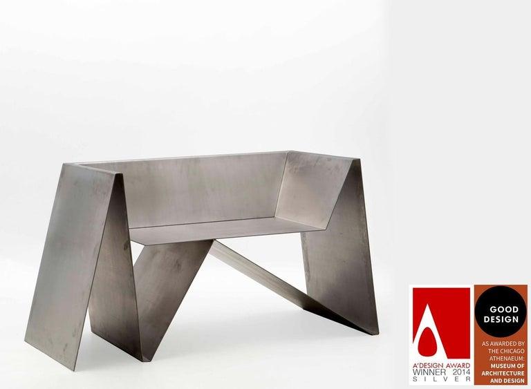 Baralho Armchair, by Flavio Franco, Brazilian Contemporary Design For Sale 1