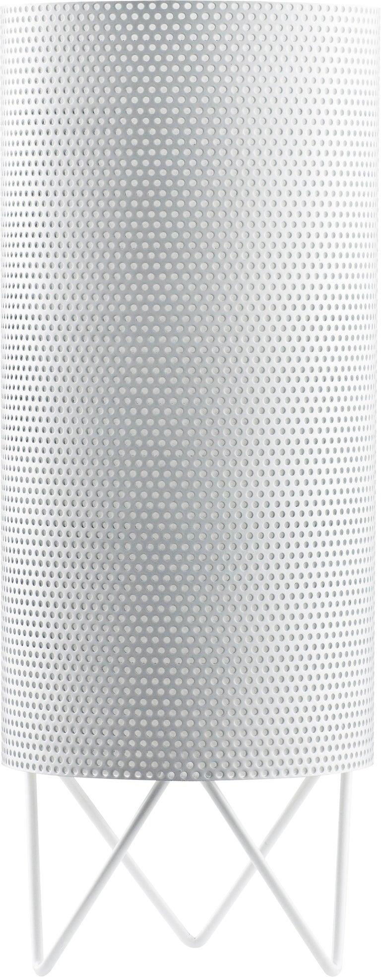 Spanish Barba Corsini 'H20' Table Lamp in Nickel For Sale