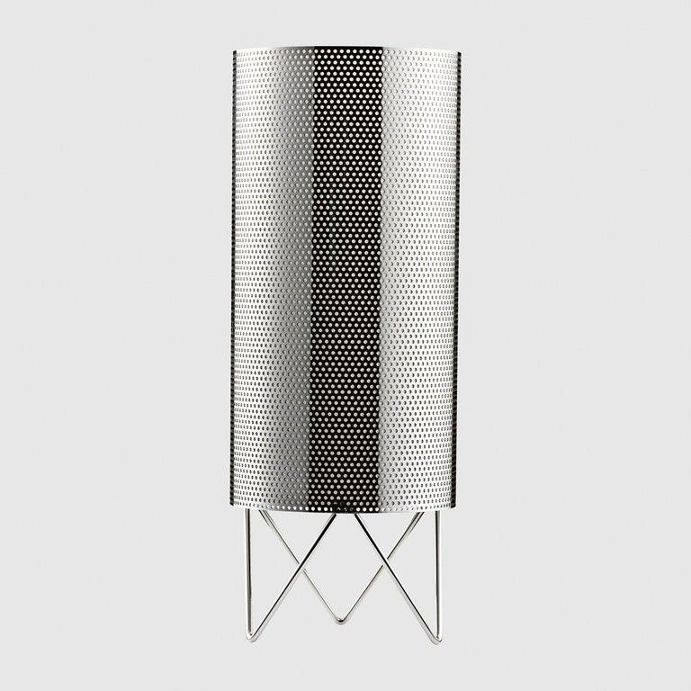 Mid-Century Modern Barba Corsini 'H20' Table Lamp in White For Sale
