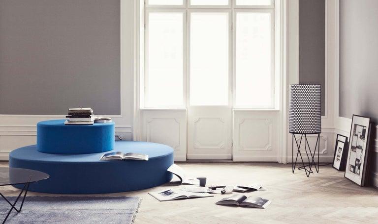 Spanish Barba Corsini 'PD2' Pedrera Floor Lamp in White For Sale