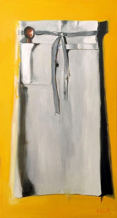Chef Apron, Painting, Oil on Canvas