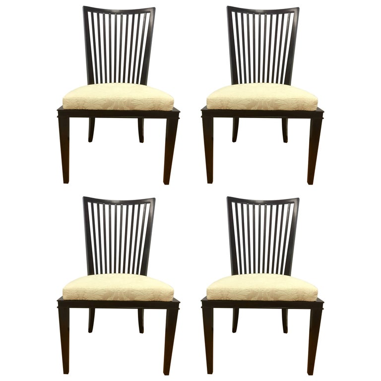 Barbara Barry Collection For Baker Furniture Set Of Four