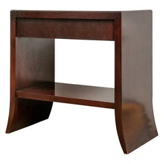 Barbara Barry Collection for Baker Mahogany Console Table