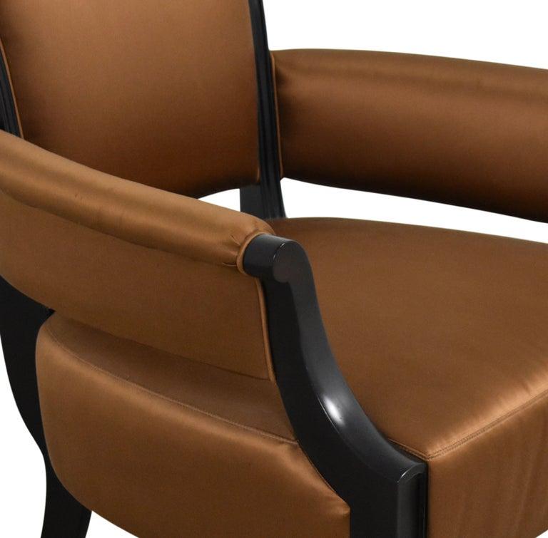 Modern Barbara Barry for Baker Furniture Armchair, Raw Sienna