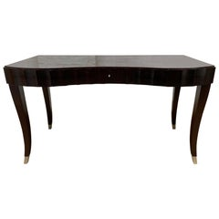 Barbara Barry for Baker Furniture Co Mahogany Desk and Chair