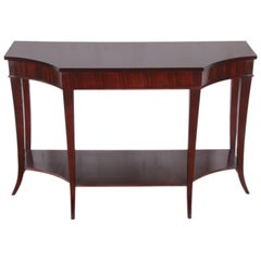 Barbara Barry for Baker Furniture Dark Mahogany Console or Sofa Table