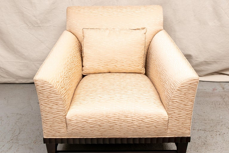Barbara Barry For Baker Oversized Armchair For Sale At 1stdibs
