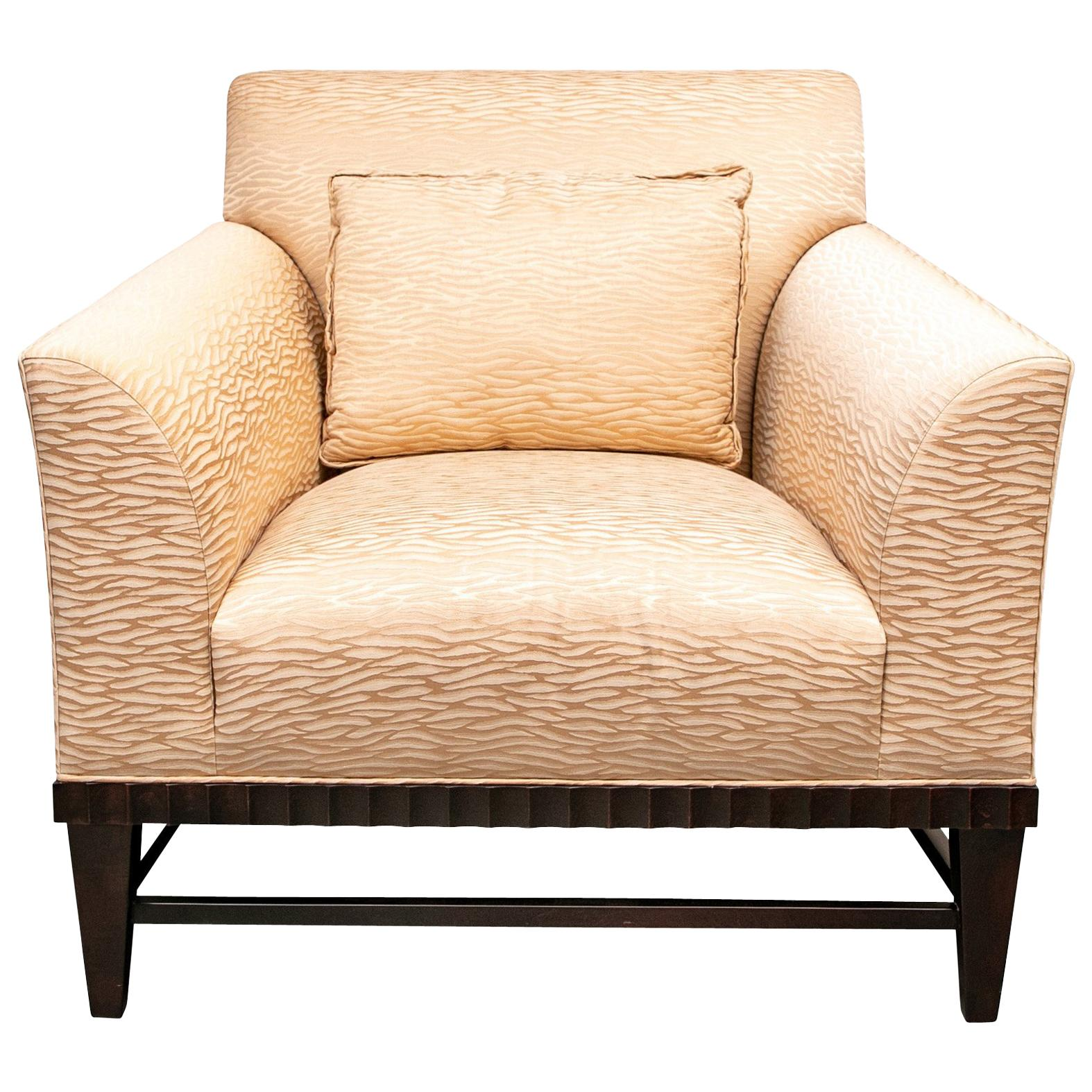 Charmant Barbara Barry For Baker Oversized Armchair For Sale