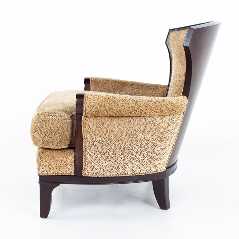 Barbara Barry for Henredon Modern Lounge Chair, a Pair For Sale 4