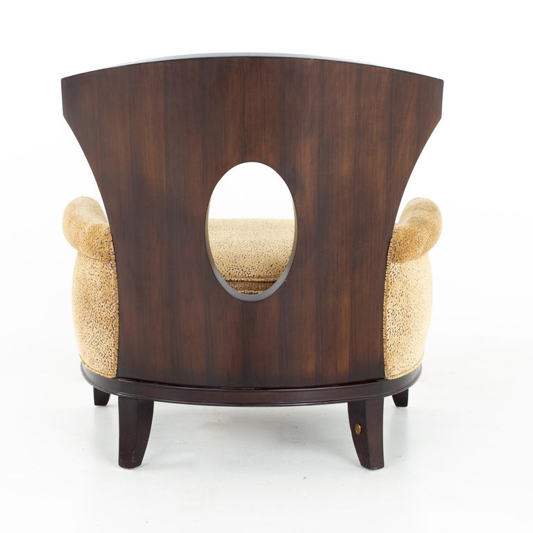 Barbara Barry for Henredon Modern Lounge Chair, a Pair For Sale 5