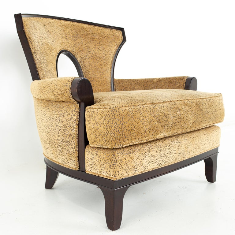 Barbara Barry for Henredon Modern Lounge Chair, a Pair For Sale 1