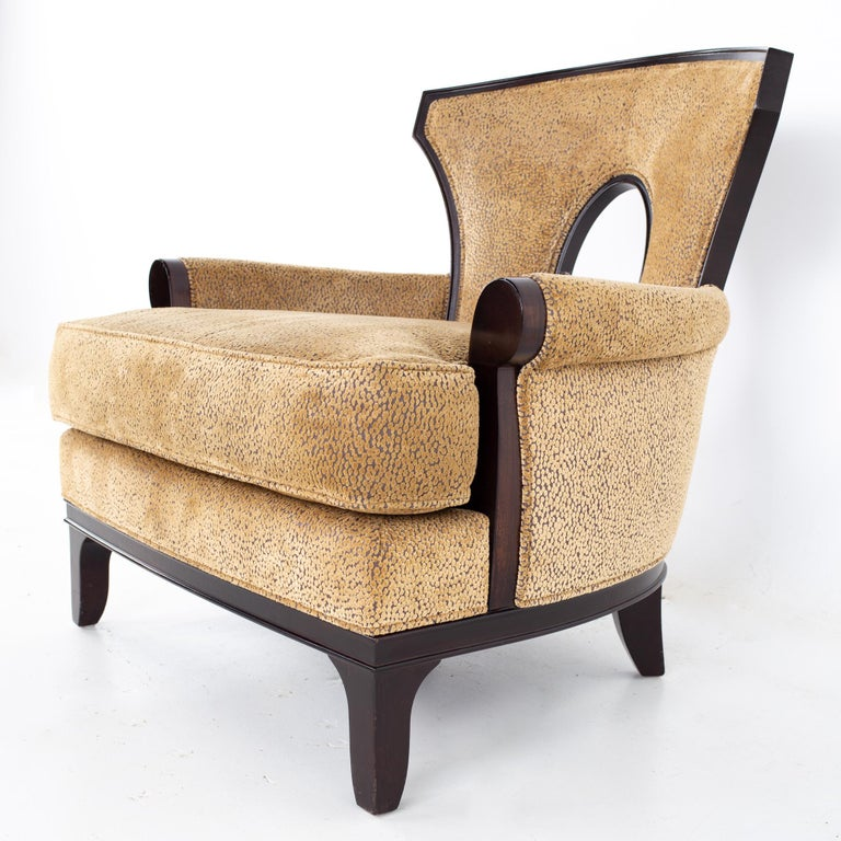 Barbara Barry for Henredon Modern Lounge Chair, a Pair For Sale 2