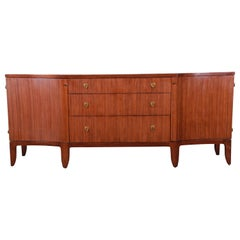 Barbara Barry for Henredon Walnut Sideboard Credenza or Bar Cabinet