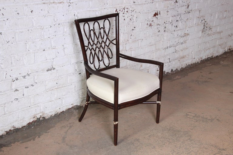 Barbara Barry for McGuire Armchair For Sale at 1stdibs