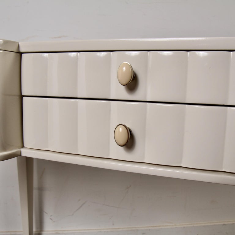 Barbara Barry Lacquered Writing Desk for Henredon For Sale 4