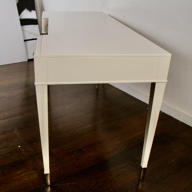 Barbara Barry Lacquered Writing Desk for Henredon For Sale 5