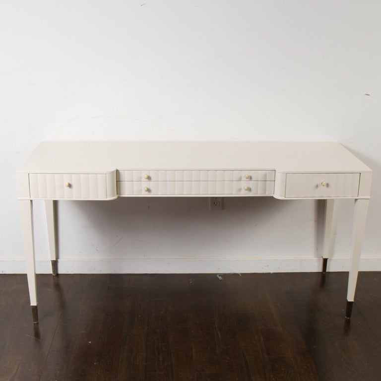 American Barbara Barry Lacquered Writing Desk for Henredon For Sale