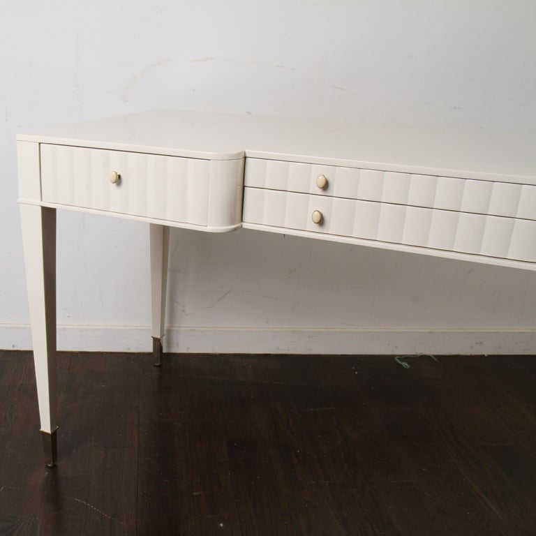 Barbara Barry Lacquered Writing Desk for Henredon For Sale 2