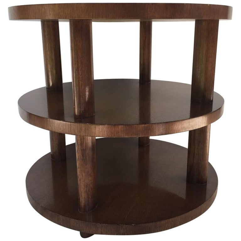 Barbara Barry Occasional Table for Baker For Sale