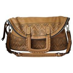 Barbara Bui Patti Studded Leather Shoulder Bag