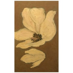 Barbara Dodge Oil Painting of a Flower