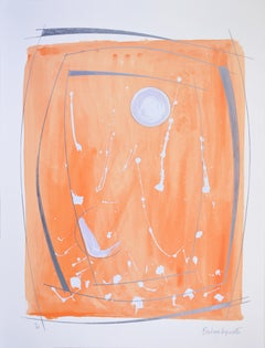 Barbara Hepworth, Opposing Forms, screenprint in colours, 1969-70, signed