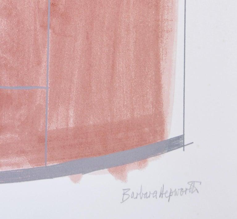 Barbara Hepworth, Rangatira II, 1969-70 - Abstract Print by Barbara Hepworth