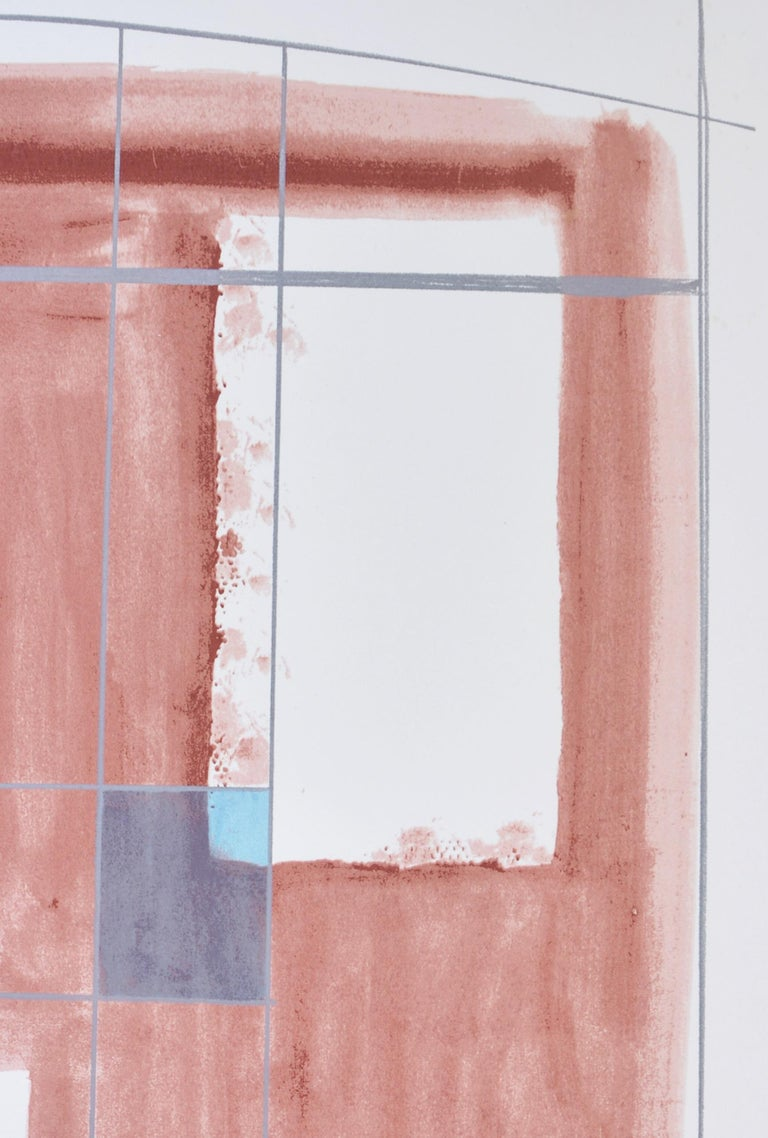 Barbara Hepworth, Rangatira II, 1969-70 - Beige Abstract Print by Barbara Hepworth