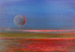 Evening II - XXI Century, Painting, Landscape