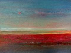 Evening III - XXI Century, Painting, Landscape