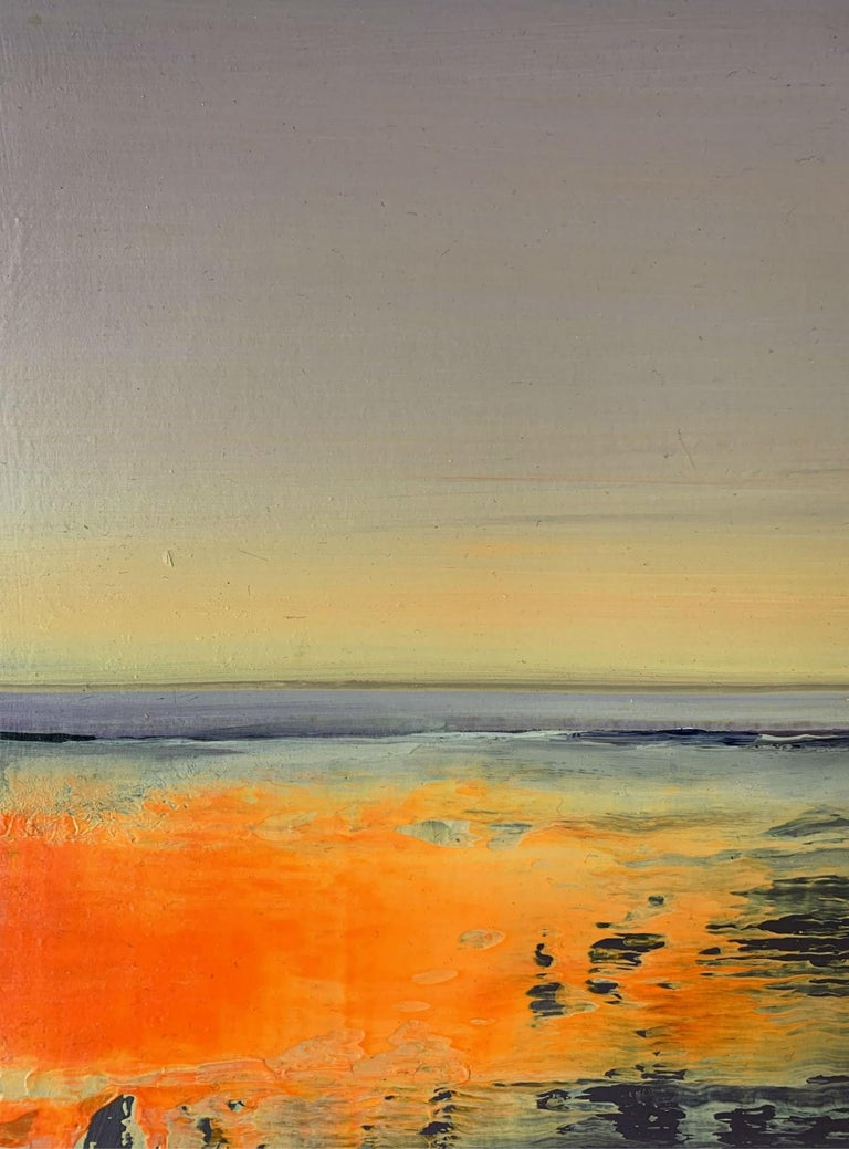 Landscape II - XXI Century, Contemporary Figurative Acrylic Painting, Landscape For Sale 1