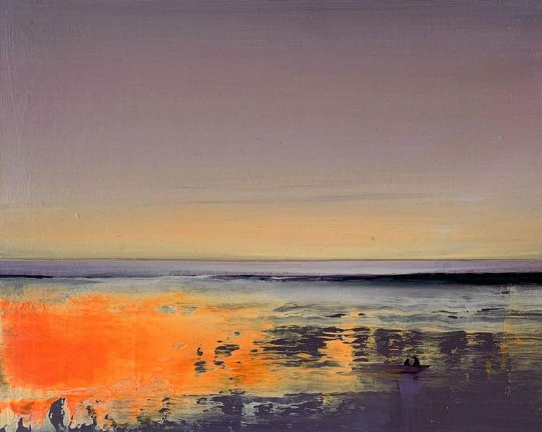 Barbara Hubert Landscape Painting - Landscape II - XXI Century, Contemporary Figurative Acrylic Painting, Landscape