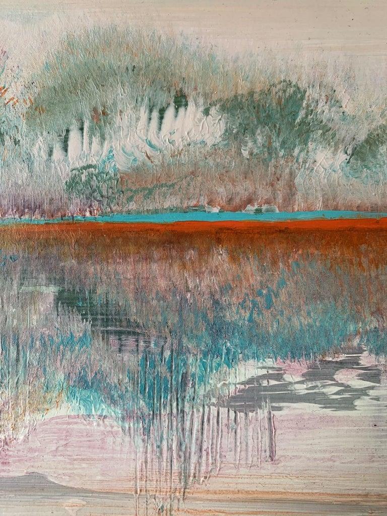 Landscape III- XXI Century, Contemporary Acrylic Painting, Landscape For Sale 1