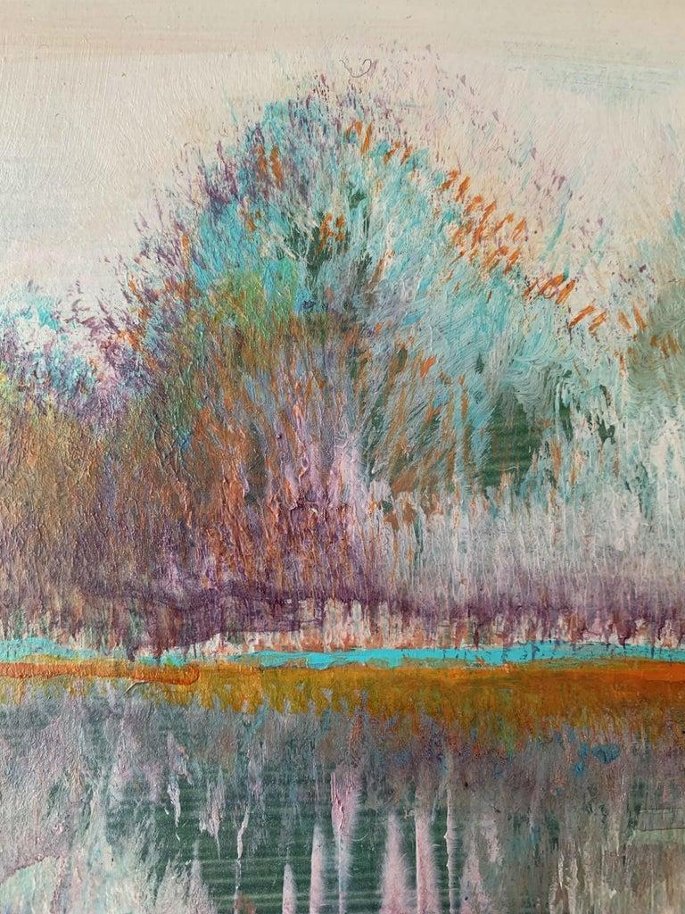 Landscape III- XXI Century, Contemporary Acrylic Painting, Landscape For Sale 2