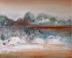 Landscape III- XXI Century, Contemporary Acrylic Painting, Landscape