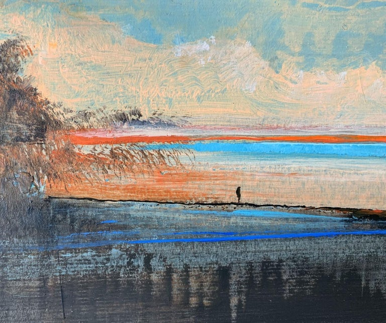 Landscape IV - XXI Century, Contemporary Acrylic Painting, Landscape For Sale 1
