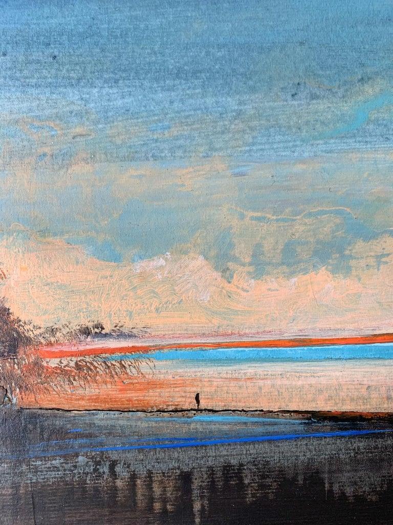 Landscape IV - XXI Century, Contemporary Acrylic Painting, Landscape For Sale 2