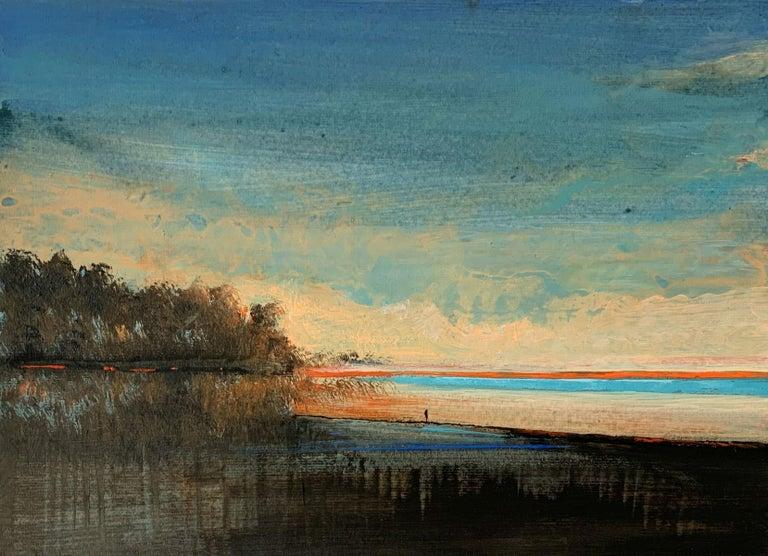 Barbara Hubert Landscape Painting - Landscape IV - XXI Century, Contemporary Acrylic Painting, Landscape