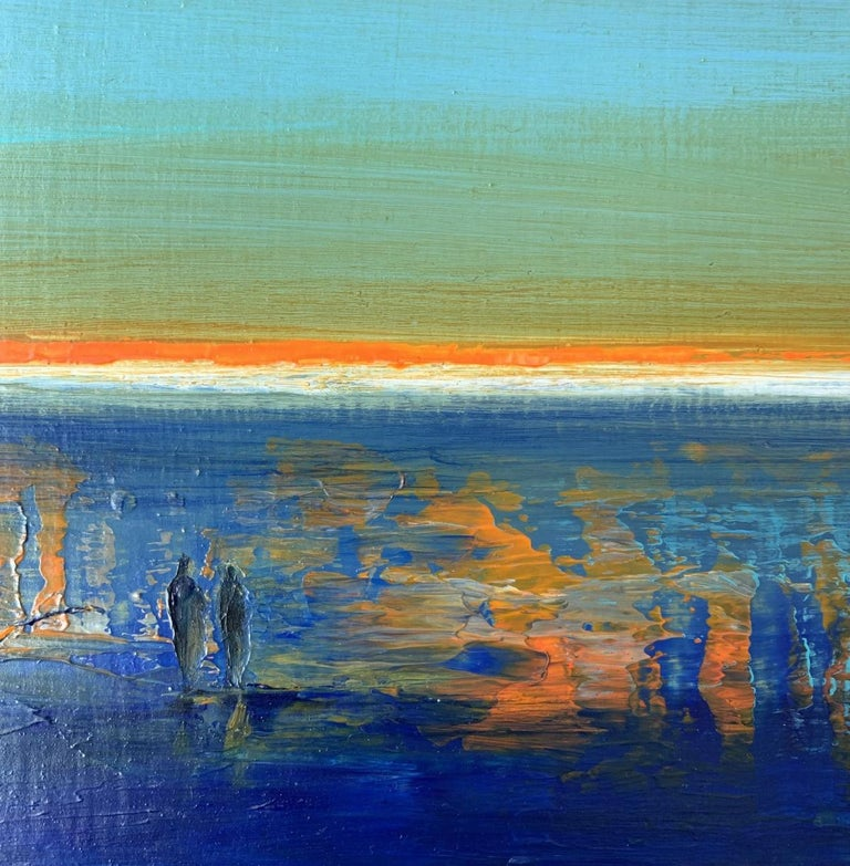 Landscape IX - XXI Century, Contemporary Acrylic Painting, Landscape For Sale 1