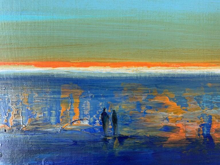 Landscape IX - XXI Century, Contemporary Acrylic Painting, Landscape For Sale 2
