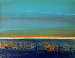 Landscape IX - XXI Century, Contemporary Acrylic Painting, Landscape