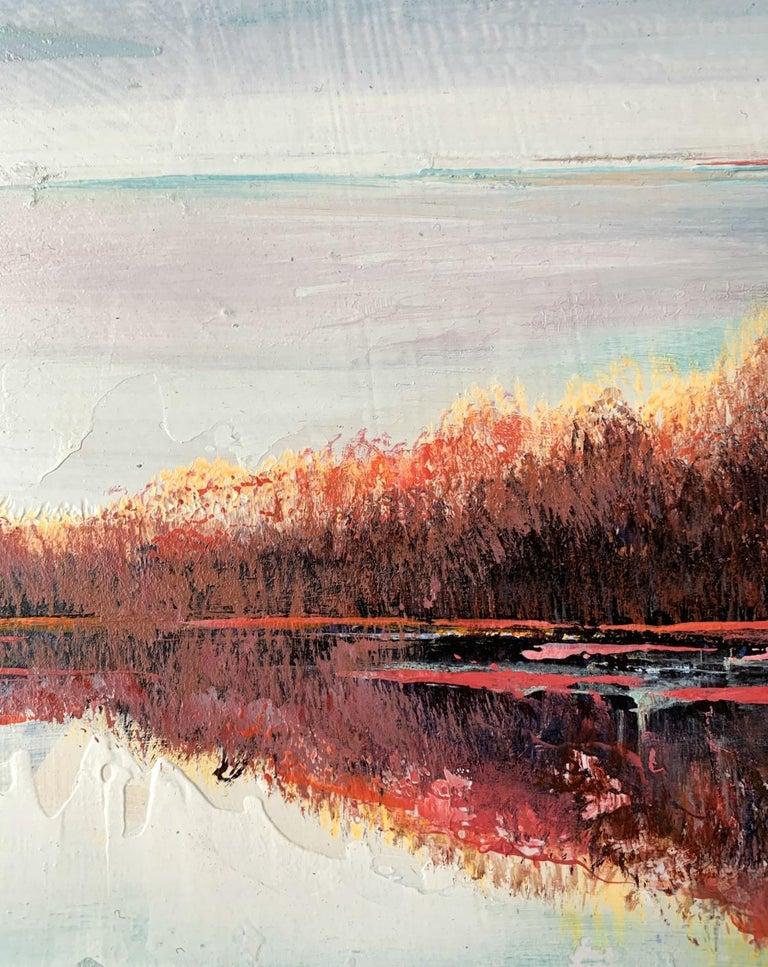 Landscape VIII - XXI Century, Contemporary Acrylic Painting, Landscape For Sale 1