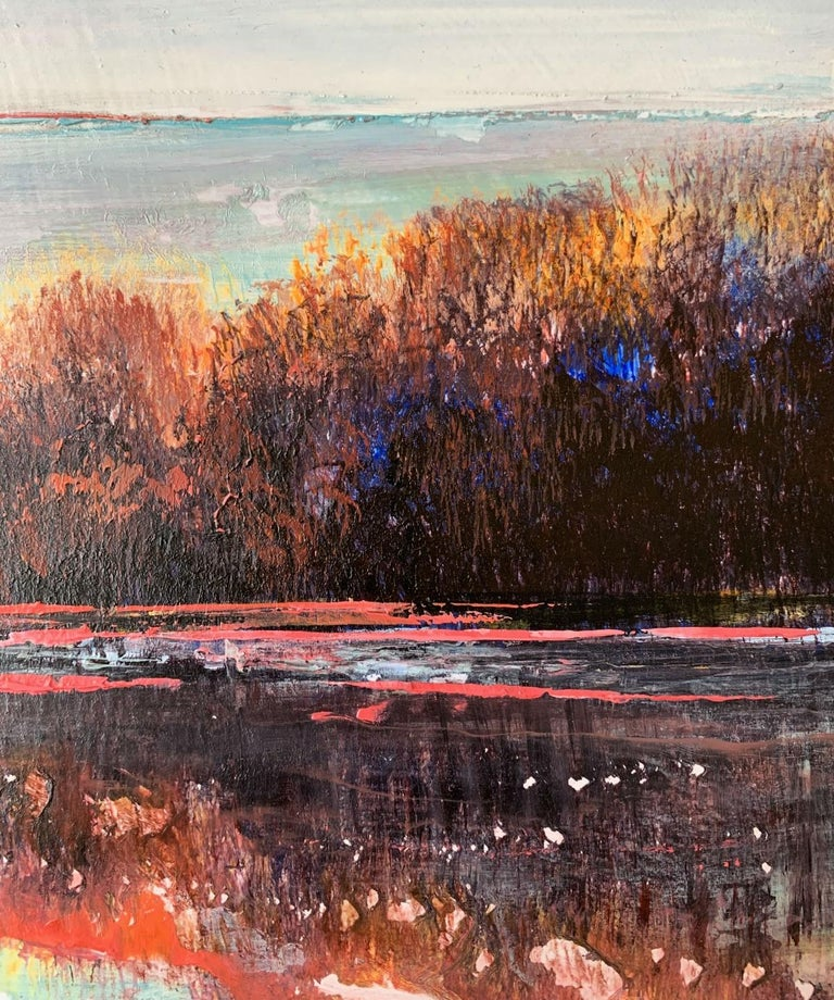 Landscape VIII - XXI Century, Contemporary Acrylic Painting, Landscape For Sale 2