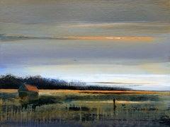 Landscape X- XXI Century, Contemporary Acrylic Painting, Landscape
