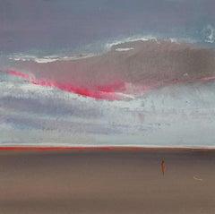 Landscape XIII- XXI Century, Contemporary Acrylic Painting, Landscape