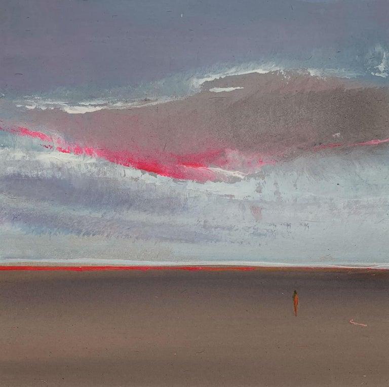 Barbara Hubert Landscape Painting - Landscape XIII- XXI Century, Contemporary Acrylic Painting, Landscape