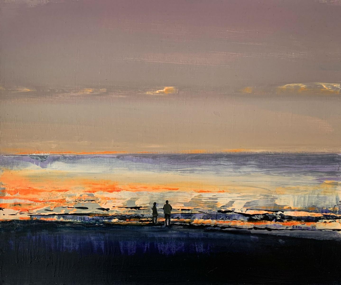 Landscape - XXI Century, Contemporary Acrylic Figurative Painting